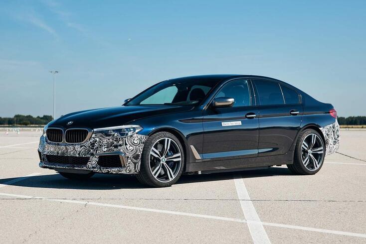 BMW Série 5 elétrico bate o M5 aos pontos…