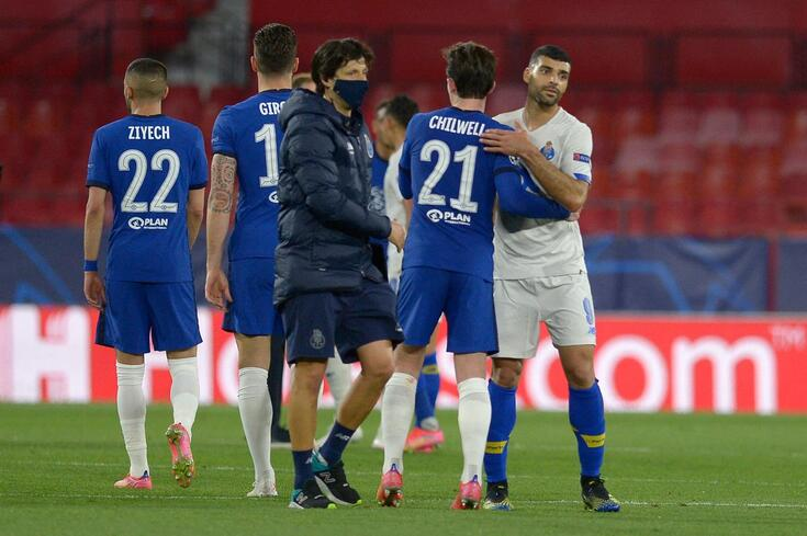 Taremi marcou um golaço frente ao Chelsea, mas não chegou para o FC Porto seguir em frente
