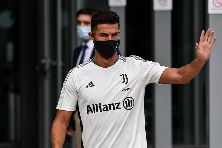 Ronaldo, futebolista português da Juventus
