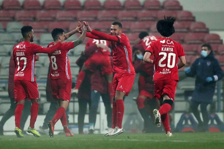 Gil Vicente nos quartos de final da Taça de Portugal