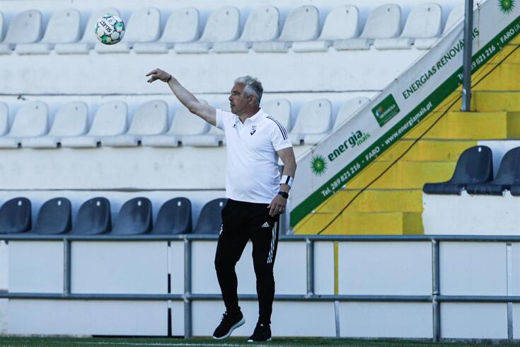 Jorge Costa, treinador do Farense