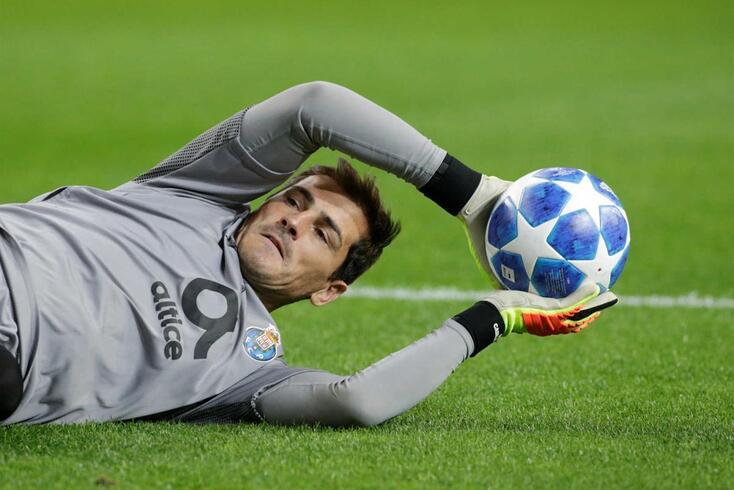 Casillas defendeu pénalti de Manuel Fernandes e já é o 19º da carreira