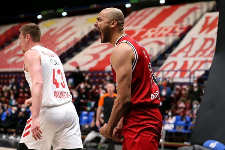 Olimpia Milano está na final-four depois de eliminar o Bayern de Munique