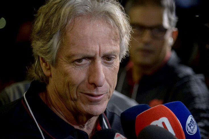 Jorge Jesus assumiu o comando técnico do Flamengo