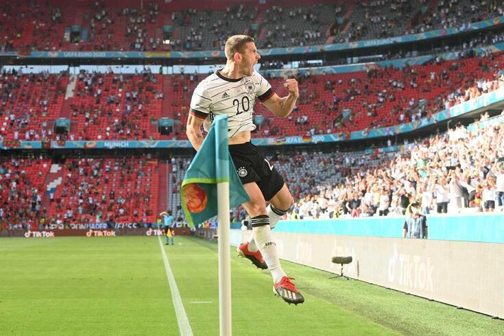 Robin Gosens, lateral-esquerdo da Atalanta e da seleção alemã
