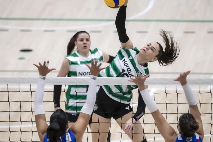 Sporting na final da Taça de Portugal de voleibol feminino ao bater AJM/FC Porto