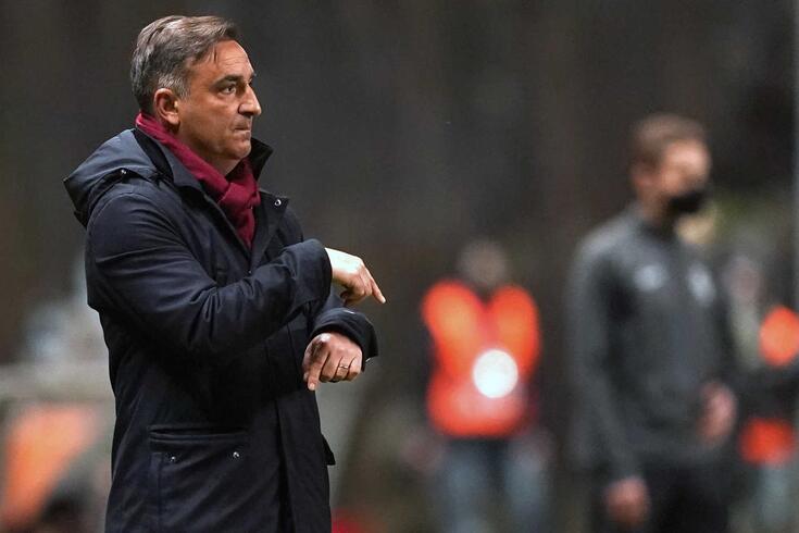 Carlos Carvalhal, treinador do Braga