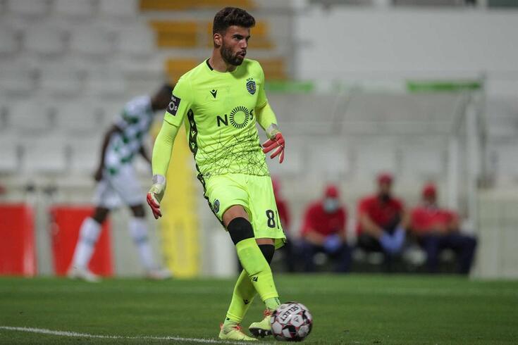 Luís Maximiano, guarda-redes do Sporting