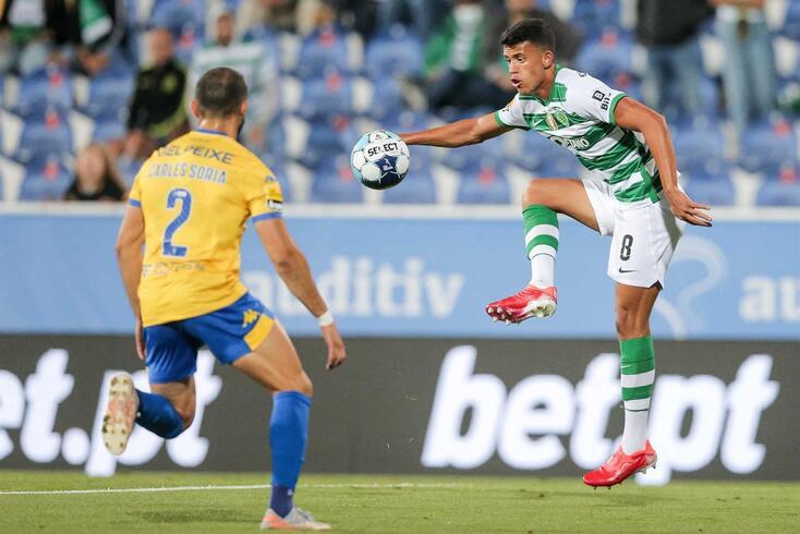 Matheus Nunes, jogador do Sporting