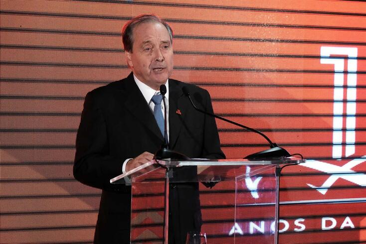 Carlos Moia, presidente do Maratona Clube de Portugal