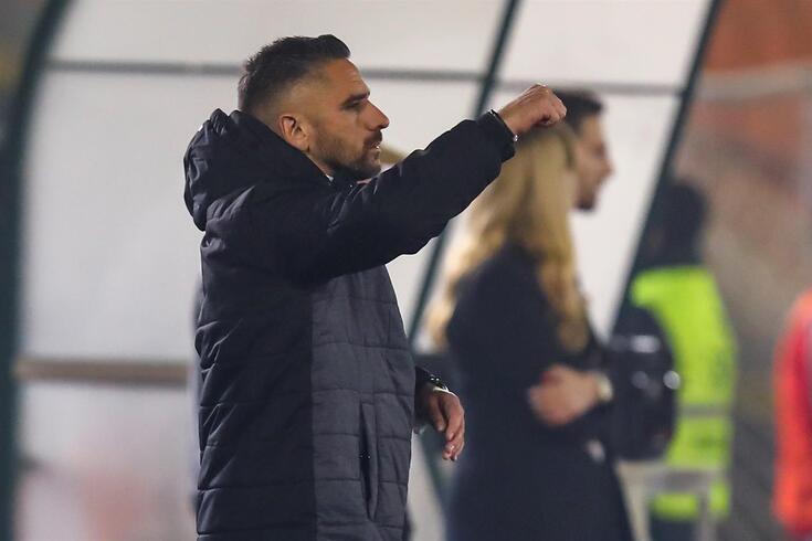 Rui Borges, treinador do Nacional