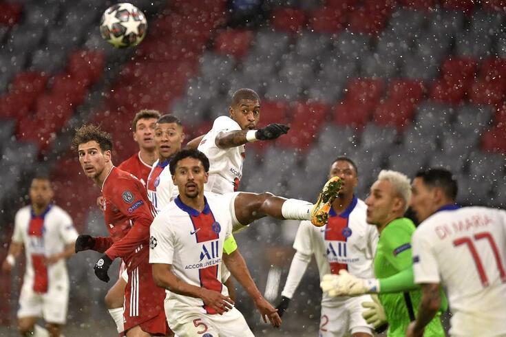 PSG derrotou o Bayern na primeira mão dos quartos de final da Champions