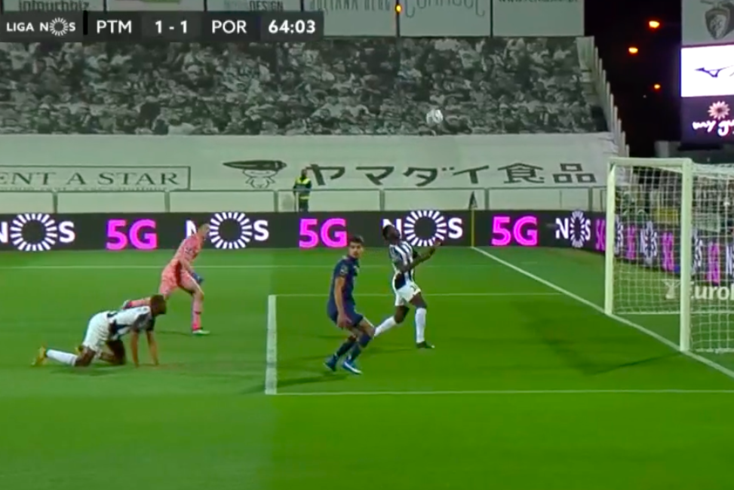 Portimonense-FC Porto: com Marchesín já ultrapassado, Candé chegou assim ao empate