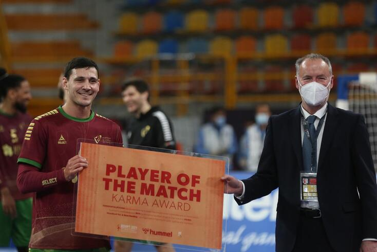 Pedro Portela, MVP do Marrocos-Portugal