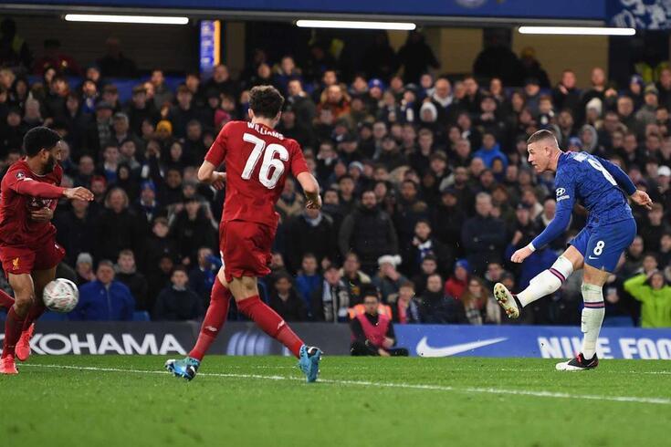 O Chelsea venceu o Liverpool e segue em frente na Taça da Portugal.