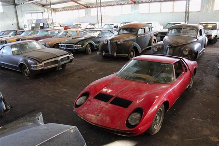 Lamborghini Miura encontrado em armazém vendido por 560 mil euros
