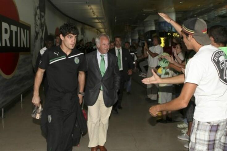 Luis Aguiar chegou para o Sporting mas ainda não jogou