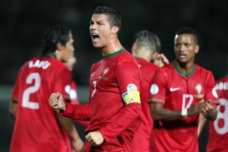Cristiano Ronaldo dedica vitória ao pai