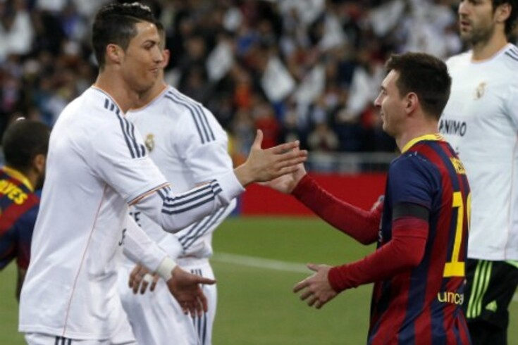 CR7 contra Messi em Old Trafford
