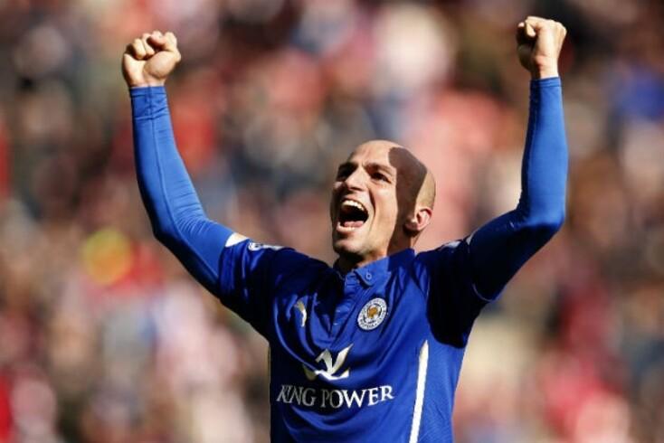 Cambiasso eleito jogador do ano do Leicester City