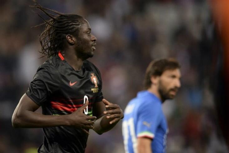 Torino preocupado com golo de Éder à Itália