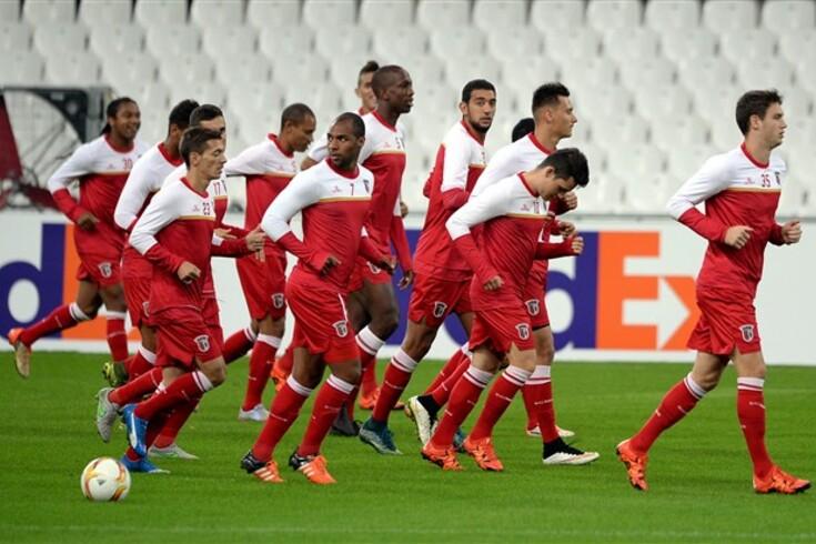 Roubaram todas as chuteiras ao Braga