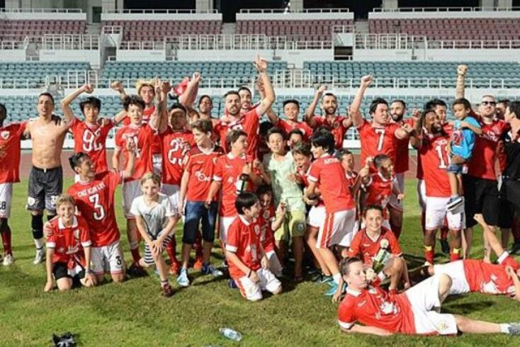 Benfica campeão em... Macau