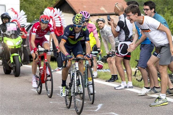 Valverde vence etapa e Kruijswijk reforça liderança