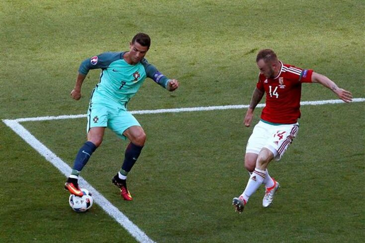 Cristiano Ronaldo aproxima-se de Platini