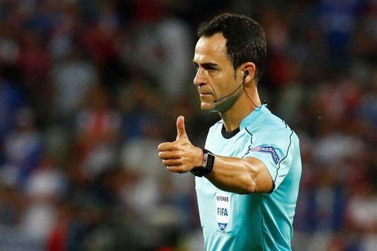 Velasco Carballo dirige jogo de Portugal com a Croácia