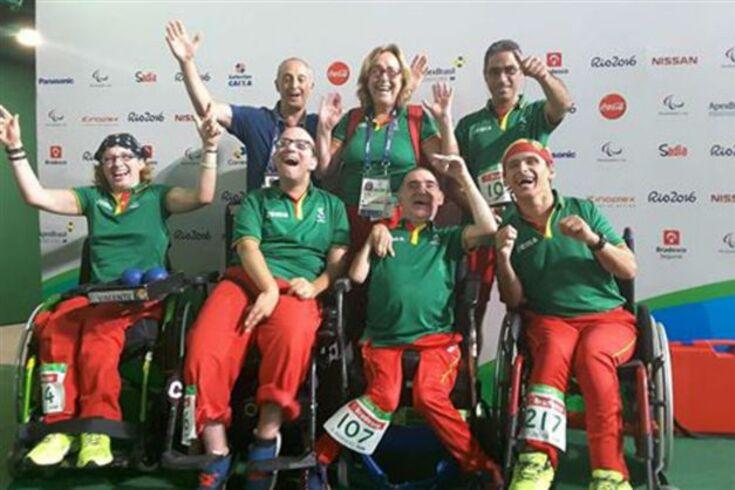 Paralímpicos'2016: bronze para Portugal no boccia