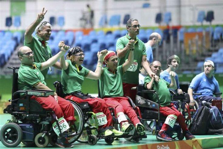 """Paralímpicos'2016: bronze no boccia foi """"fruto do trabalho de toda a equipa"""""""