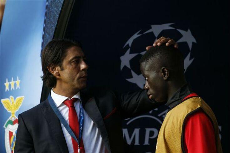 Rui Costa com José Gomes