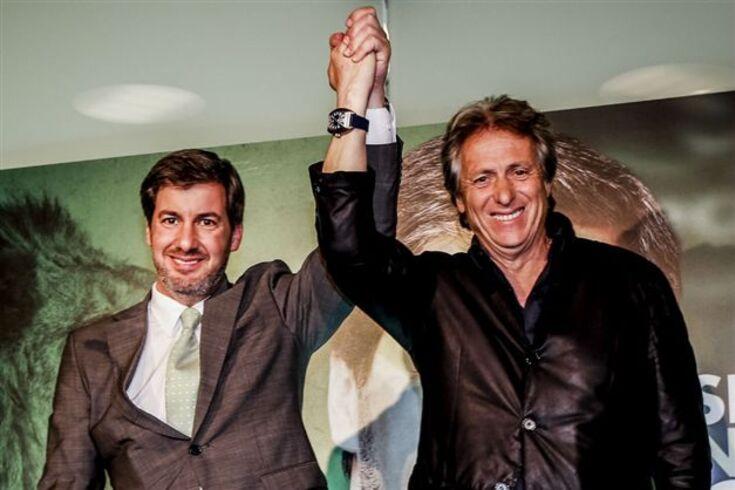 Reunião deixa Jorge Jesus e Bruno de Carvalho em ponto de rutura