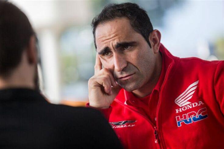 Paulo Gonçalves tem o Dakar em risco