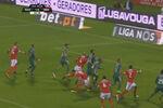 VÍDEO A polémica grande penalidade que deu o empate ao Benfica