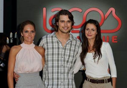 Diana Chaves, Diogo Moragado e Joana Santos