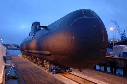 O  'Tridente' é o primeiro dos dois submarinos adquiridos pelo  Estado português à companhia alemã Ferrostal