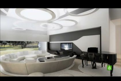 Veja imagens inéditas da casa de Cristiano Ronaldo