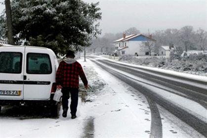 Sistema para acabar com neve e gelo nas estradas