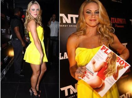 'Melhor bumbum do Brasil' é capa da Playboy