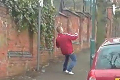 Vídeo de bêbado faz sucesso no YouTube