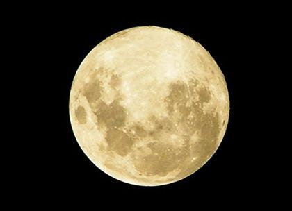 Uma lua cheia como não se via há 18 anos