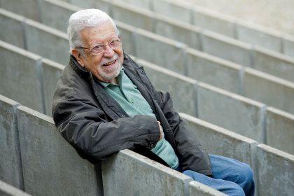 Artur Agostinho fotografado pelo DN, em Dezembro de 2010