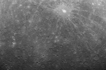 NASA mostra primeira foto de Mercúrio