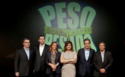 A apresentadora Júlia Pinheiro com a equipa da Meo e da SIC