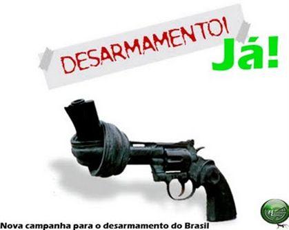 Nova campanha de desarmamento lançada hoje