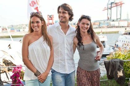 Diana Chaves, Diogo Morgado e Joana Santos