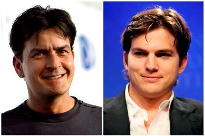 Charlie Sheen e Ashton Kutcher