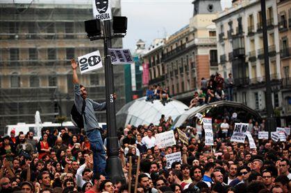Concentração na Porta do Sol, em Madrid, pretende alertar para a necessidade de uma mudança política e social em Espanha